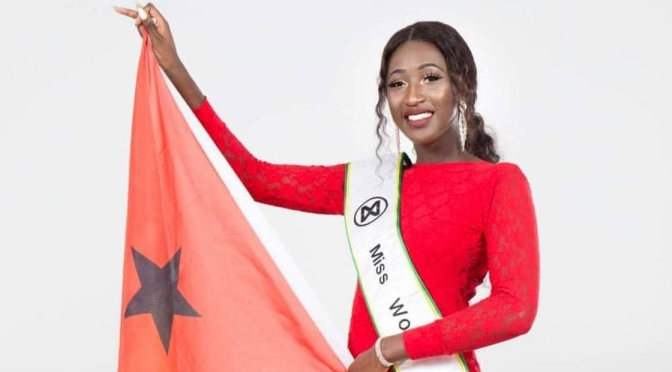 Leila Samati is representing Guinea-Bissau at Miss World 2019 | Biography