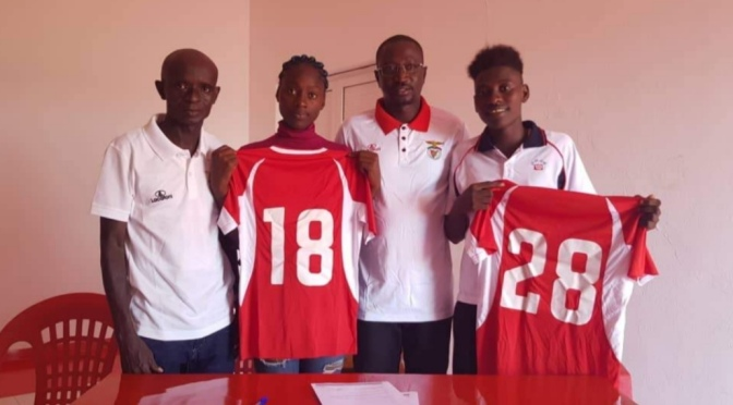BENFICA Bissau  hired two players for the women's team